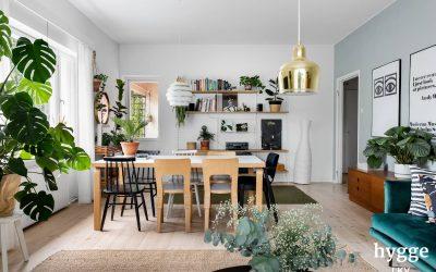 Kaksio 66 m2 Käpylä, asunto oli mahdollista muuttaa kolmioksi, myyty syksyllä 2020